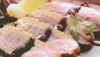 鴨ロースの藁焼き