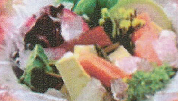 糸島農園のサラダ